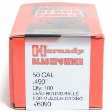 Hornady #6090 .490 Rd. Ball 100/bx