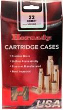 .22 Hornet Hornady Cases 50/bx
