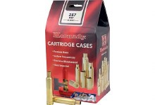 .257 Weatherby Hornady Cases 50/bx