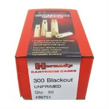 .300 Blackout Hornady Cases 50/bx