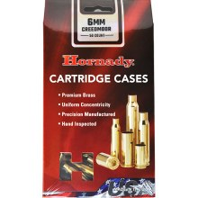 6mm Creedmoor Hornady Cases 50/bx