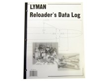 Lyman Reloader's Data Log
