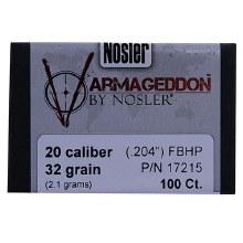 .20   Caliber  32gr VGDN   Nosler #17215