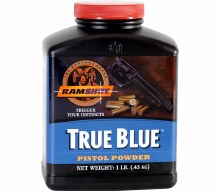 True. Blue 1 lb. - Ramshot Powder