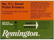 #5 1/2 Small Pistol Magnum - Remington Primers