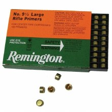 #9 1/2 Large Rifle - Remington Primers