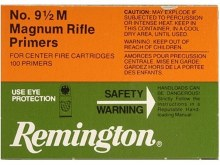 #9 1/2M Large Rifle Magnum - Remington Primers