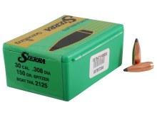 .30 Caliber    150gr SBT Sierra #2125