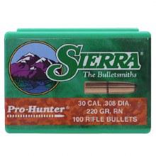 .30 Caliber   180gr RN Sierra #2180