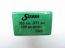 .303 Caliber  150gr SPT Sierra #2300