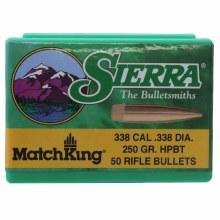 .30 Caliber    165gr BT Sierra #2145 100/bx