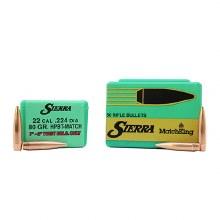 .22  Caliber   80gr HPBT Sierra #9390T