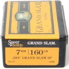 7mm   /  160gr  GS Speer #1638