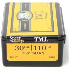 .30 Caliber 110gr TMJ RN Speer #1846 100/bx
