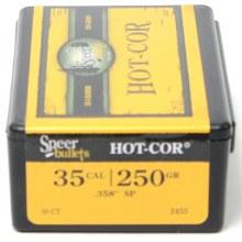 .35 Caliber 250gr  SP Speer #2453