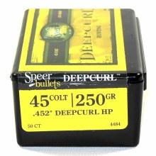 .45 Caliber 250gr GDHP Speer #4484 50/bx