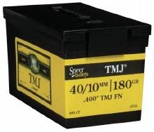 40/10mm 180gr TMJ Speer #4734 400/bx