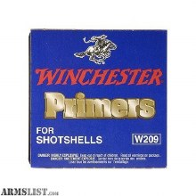 #209 Winchester Primer