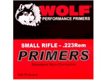 Wolf Primers Small Rifle 100ct