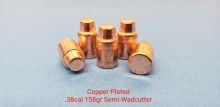 .38   Caliber 158gr. SW 500ct.  XTB Copper  Plated