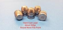 .44  Caliber  200gr RNFP 500ct.  XTB Lead Bullet