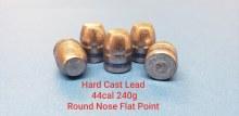 .44  Caliber  240gr. RNFP CB 500ct.  XTB Lead Bullet