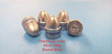 .45  Caliber  200gr. RN 500ct.  XTB Lead Bullet