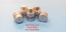 .45  Caliber  255gr.  SWC 500ct.  XTB Lead Bullet