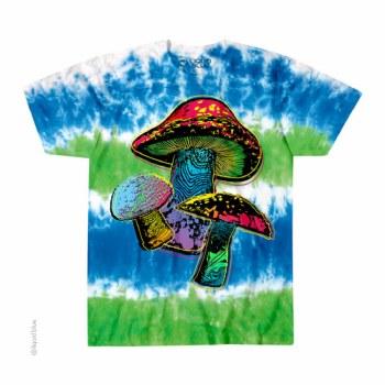 Psychedelic Shroom Tie Dye