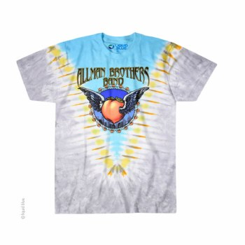 Allman Brothers Band Flying Peach Tie Dye