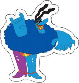 The Beatles Chief Blue Meanie Patch
