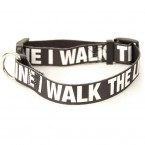 Johnny Cash Walk The Line Dog Collar
