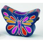 Leather Butterfly Coin Bank