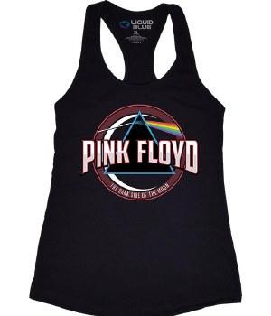 Pink Floyd Ladies Blue Prism Tank