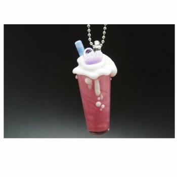 Fancy Milk Shake Pendant by Renee Patula
