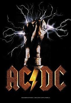 AC/DC Poster Flag