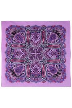 Purple Paisley Bandana