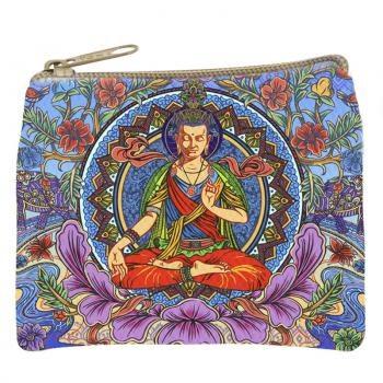 Lotus Buddha Cosmetic Bag