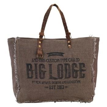 Big Lodge Tote Bag by Clea Ray