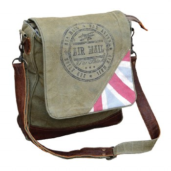 Air Mail Bag by Clea Ray