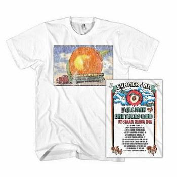 Allman Brothers Band Eat A Peach Distressd