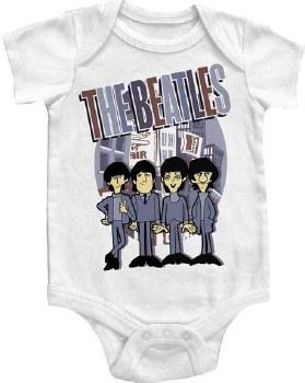 The Beatles Kids The City Onesie