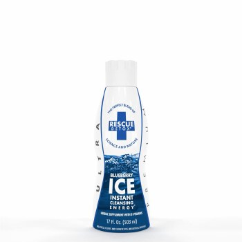 Rescue Detox Ice Blueberry 17 oz