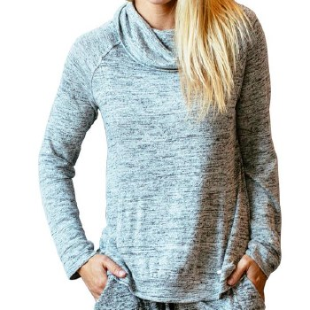 Carefree Threads Gray Lounge Top by Hello Mello