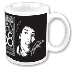 Jimi Hendrix San Francisco Mug