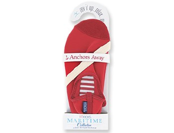 Fitkicks Shoes Maritime Red in XL