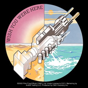 Pink Floyd Wish You Were Here Gear Sticker