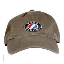 Grateful Dead Oval Bolt Tour Olive Hat