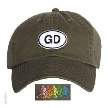 Grateful Dead Oval Olive Hat