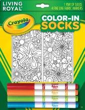 Crayola Color In Floral